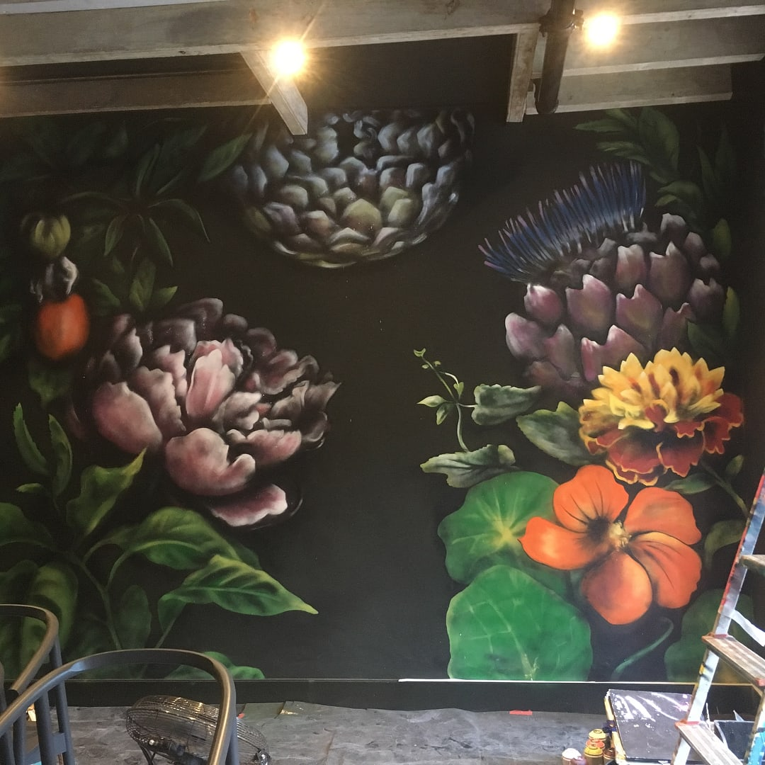 See Flower Wall By Claire Homewood At Janse Co Cape Town Wescover
