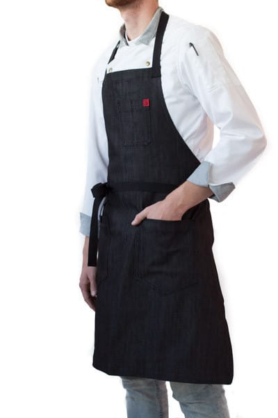 Aprons by Hedley & Bennett seen at Otium, Los Angeles - Aprons