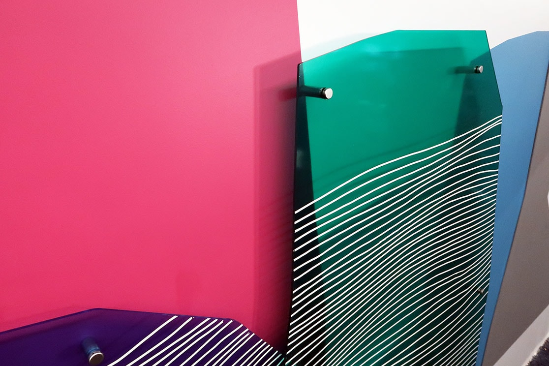 Murals by Erik Otto seen at Adobe Systems, San Jose - Landscapes 02