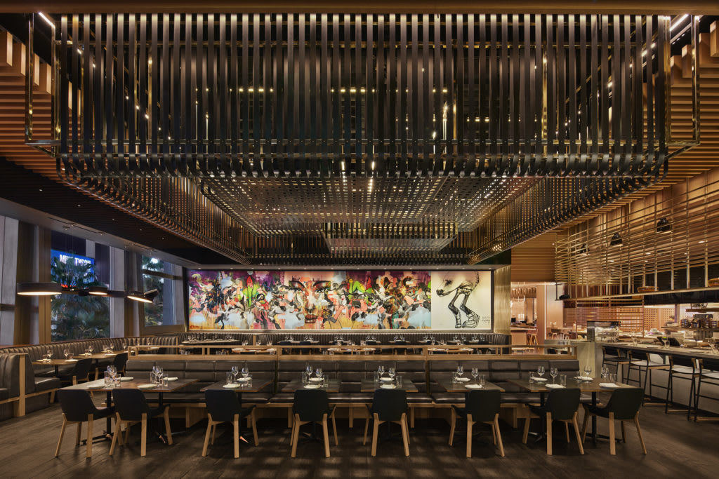 Interior Design by DesignAgency seen at Momofuku Las Vegas, Las Vegas - Interior Design