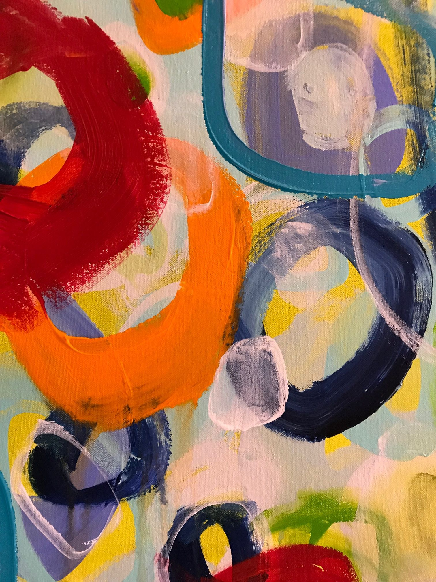Paintings by Darlene Watson seen at Private Residence - Enrapture