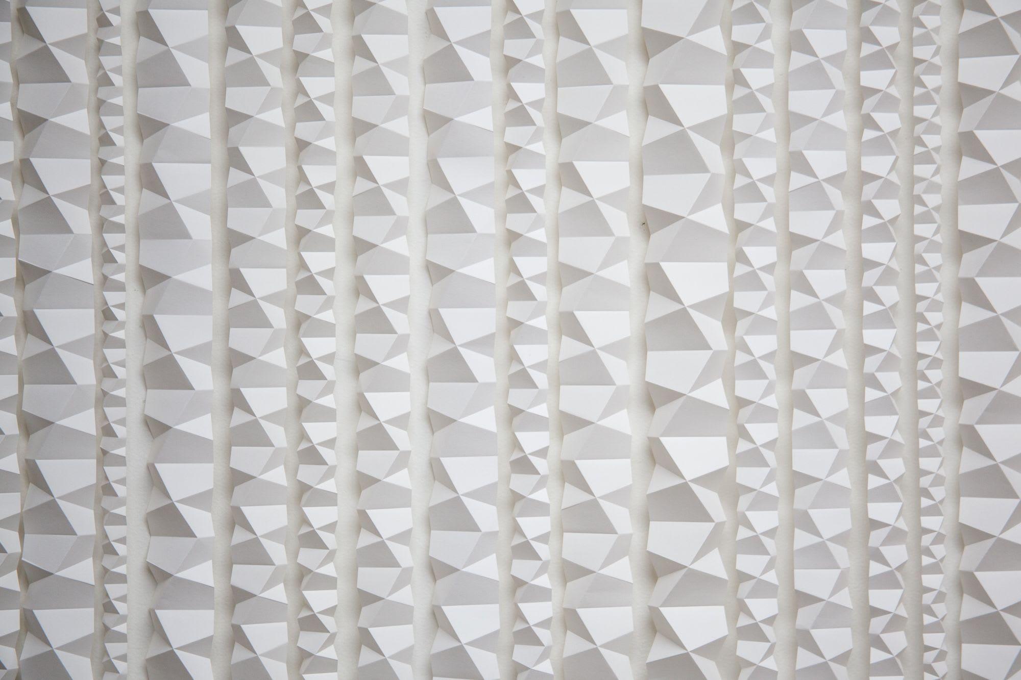 Wall Hangings by Zai Divecha seen at Square Inc, San Francisco - Rain