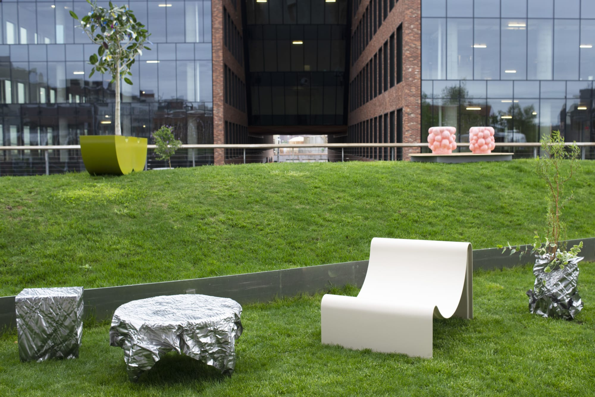 Chairs by Asa Pingree seen at Inside/Out - The Vale Park, Brooklyn - Knockabout Lounge Chair