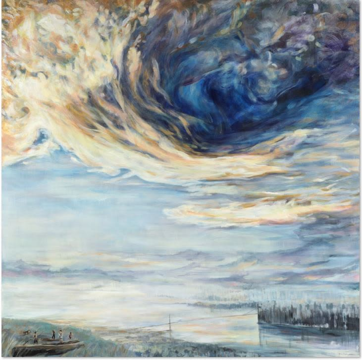 Paintings by Karen Lorena Parker Contemporary Art seen at Private Residence, Vancouver - Landscapes