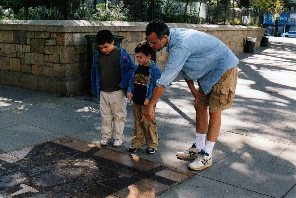 Public Sculptures by Gregg LeFevre seen at Union Square, New York - Union Square Timeline