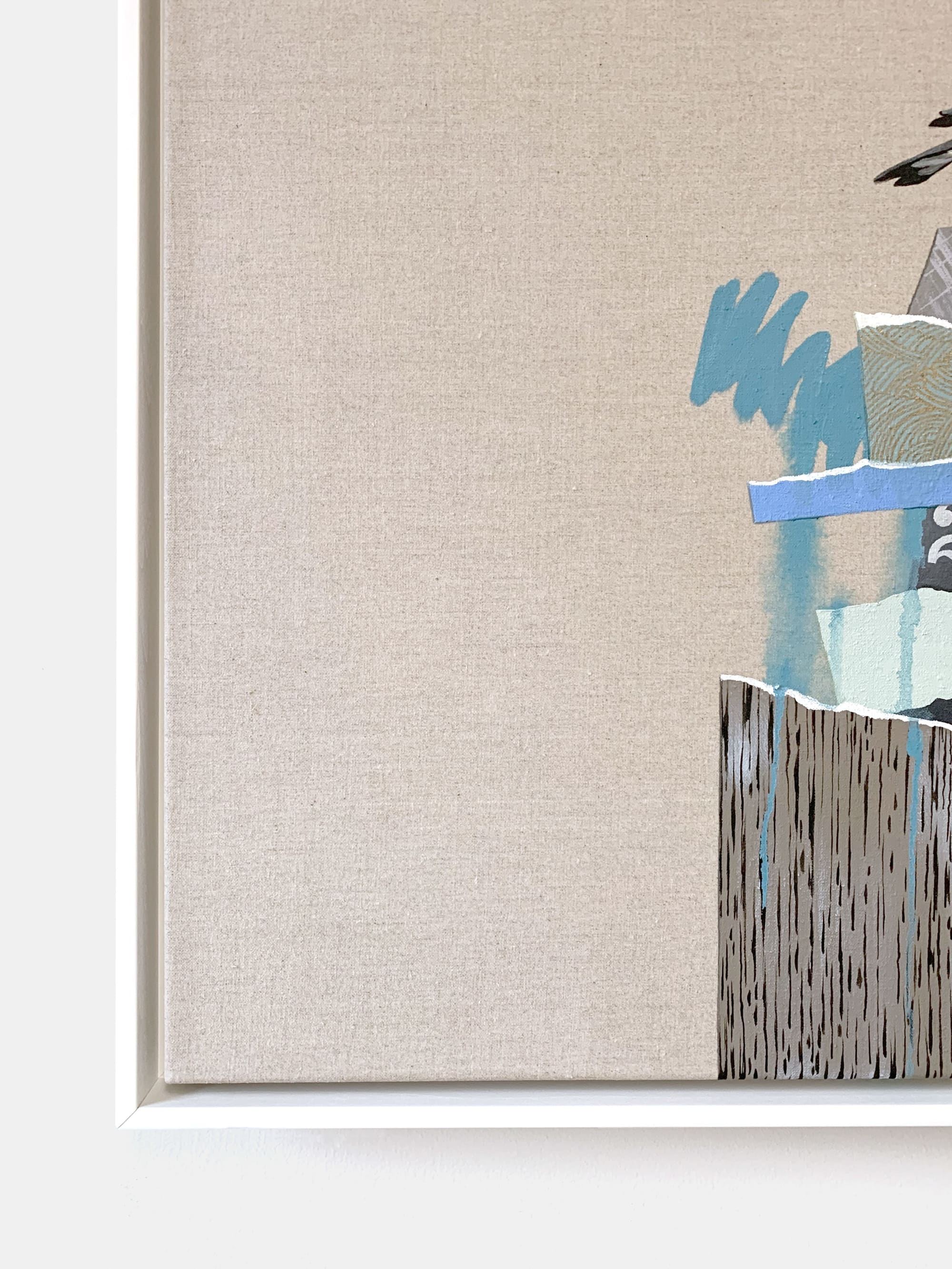 Paintings by Lauren Matsumoto seen at Private Residence, Brooklyn - The Rise and Fall No. 16