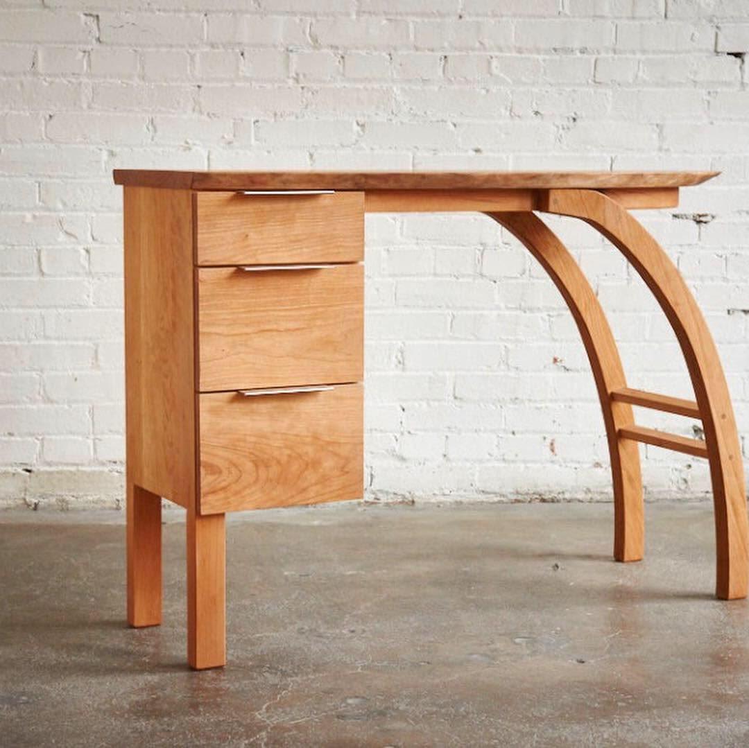 Custom unique woodwork table