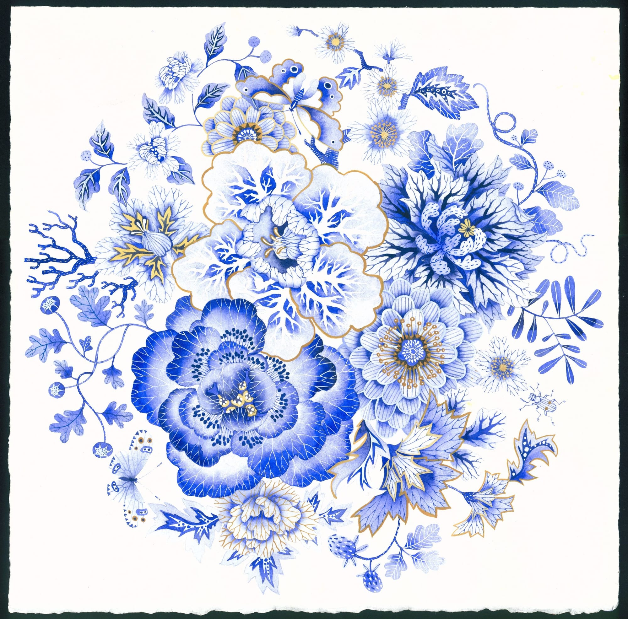 Ceramic Plates by Gabby Malpas seen at Australia - Toile de Fleur