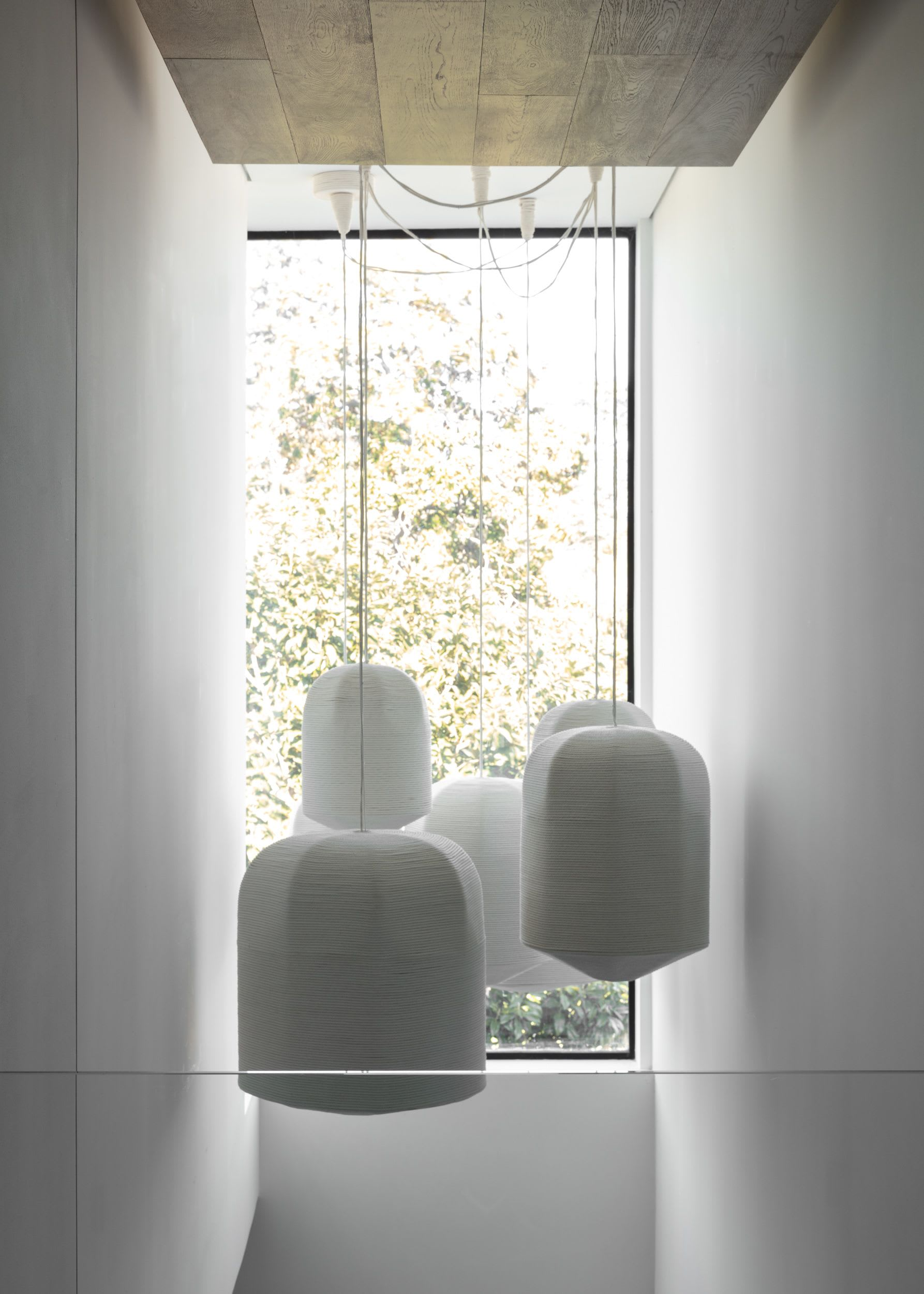 Pendants by Cuff Studio seen at Private Residence, Los Angeles - Rope Wrapped U Pendants