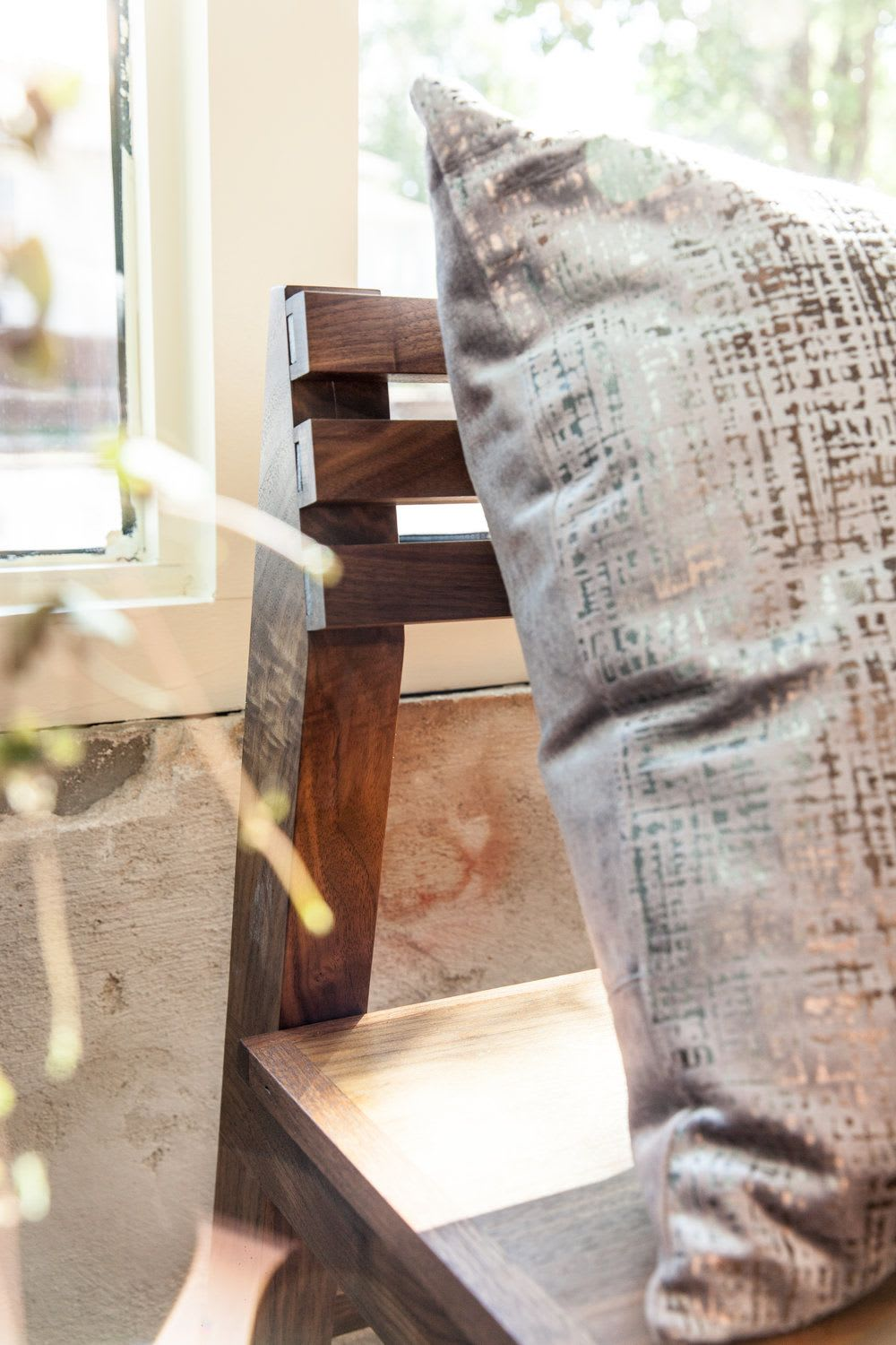 Benches & Ottomans by Art Builders Guild seen at Amethyst Coffee- Broadway, Denver - 24' Amethyst Bench