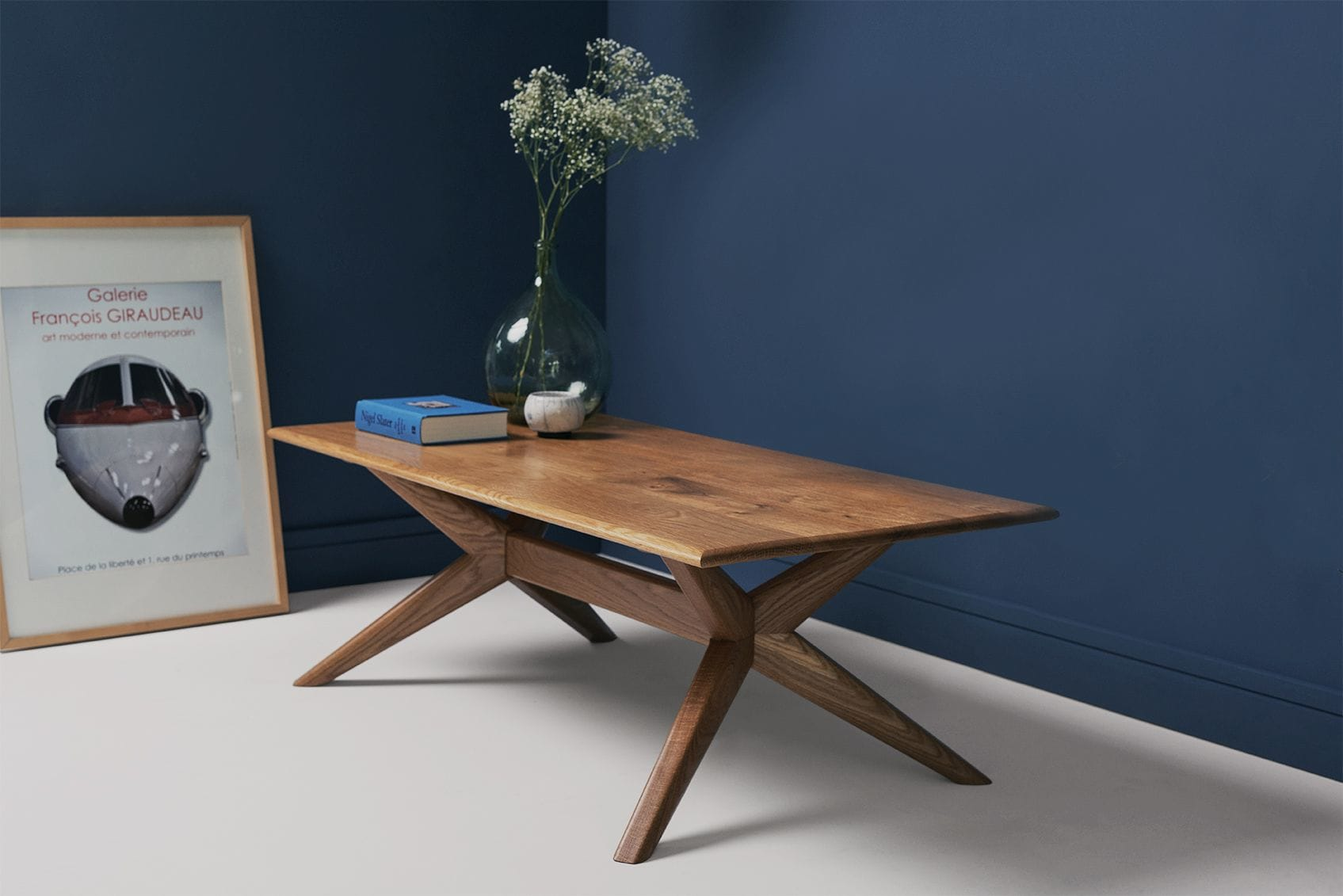 Tables by CHARLIE CAFFYN FURNITURE seen at Private Residence - Southwick, Bath, Southwick - Chantry - Oak Rectangular Coffee table