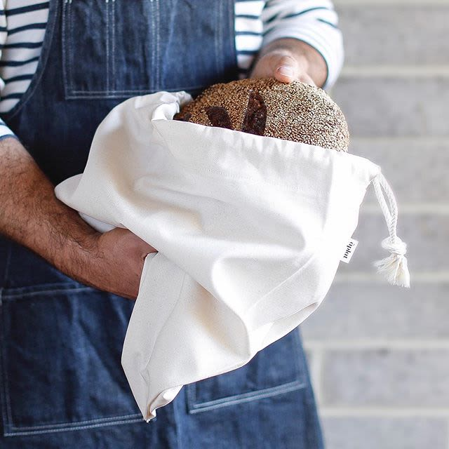 Linens & Bedding by Aplat seen at Bay Area Made x Wescover 2019 Design Showcase, Alameda - Bread and Pantry Bag - Large