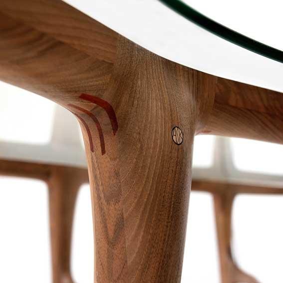 Tables by Ask Emil Skovgaard seen at Private Residence in Copenhagen, Denmark, Copenhagen - Cloud Table