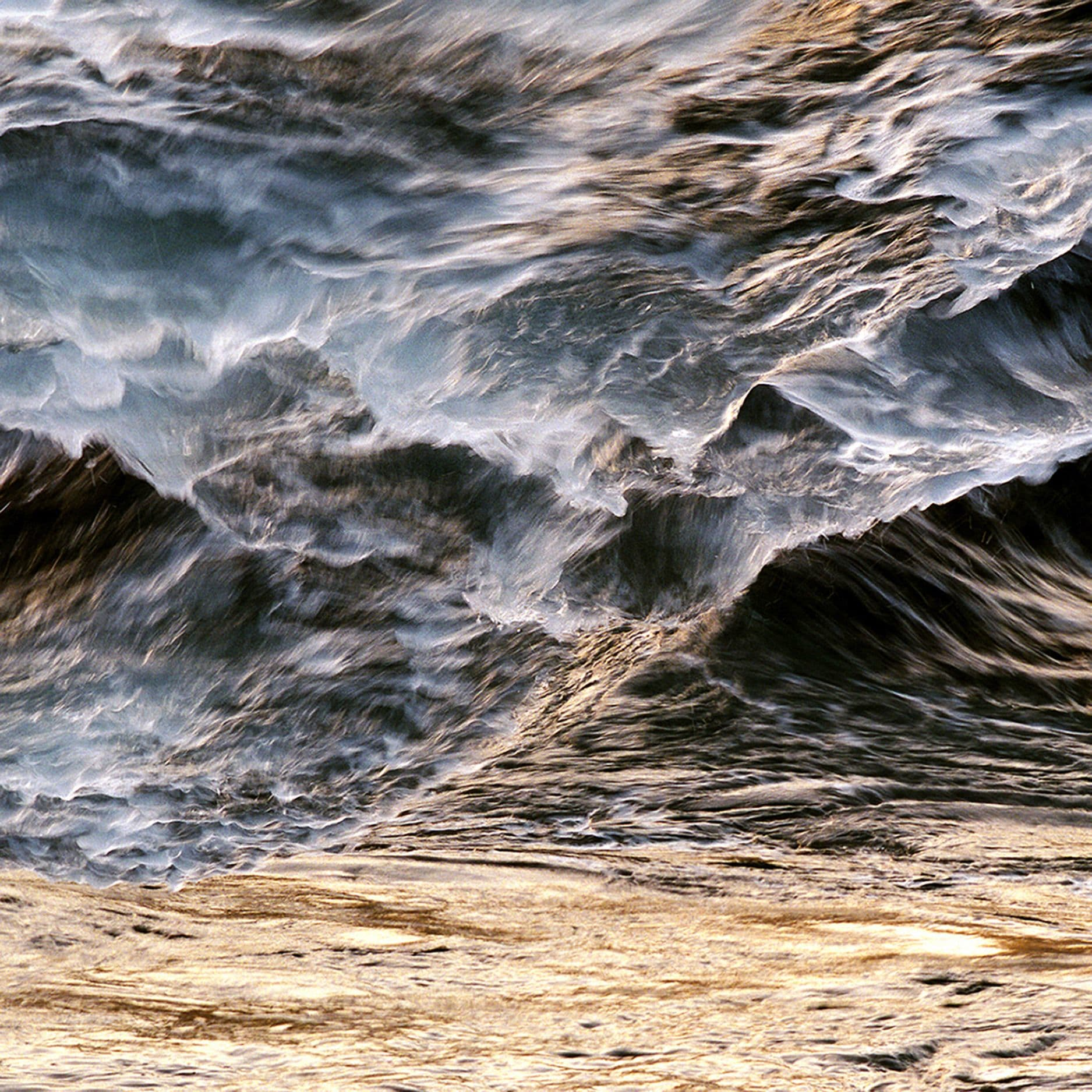 Photography by Tabitha Soren seen at Private Residence, Malibu - Panic Beach - Oceans, Waves