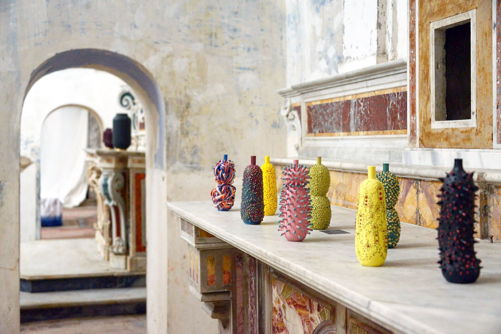 Vases & Vessels by Ahryun Lee seen at Chiesa di Santa Teresa, Benevento - MATERIALIA, 2017