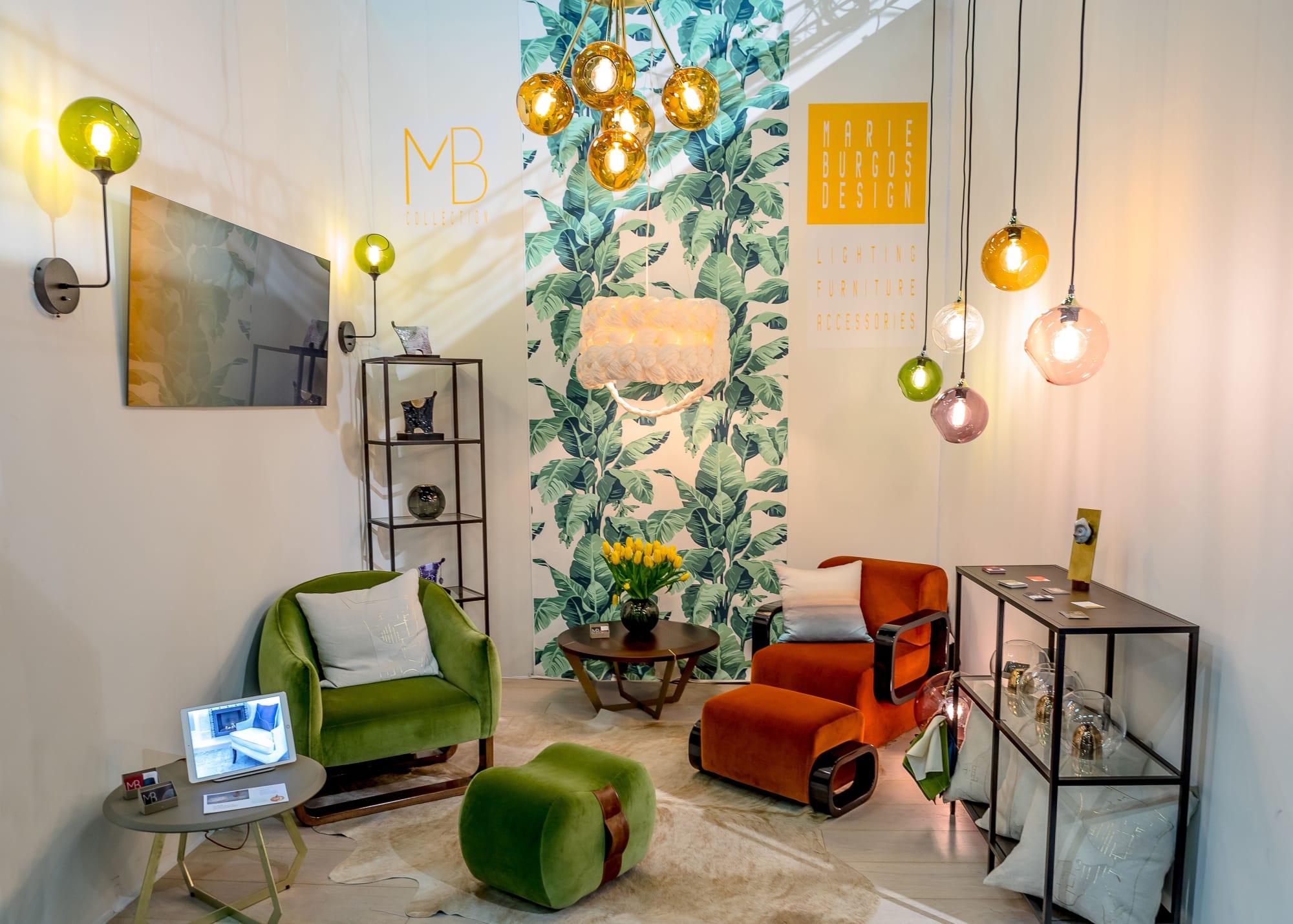 Pendants by Marie Burgos Design seen at d&d Building, New York - THE BRIDE PENDANT LIGHT
