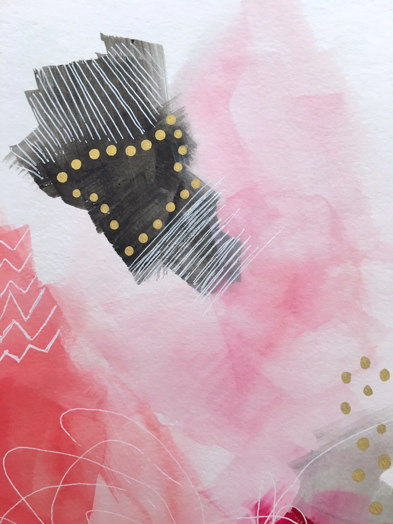 Paintings by Melanie Biehle seen at Private Residence, Hamburg - Delicate, Not Fragile