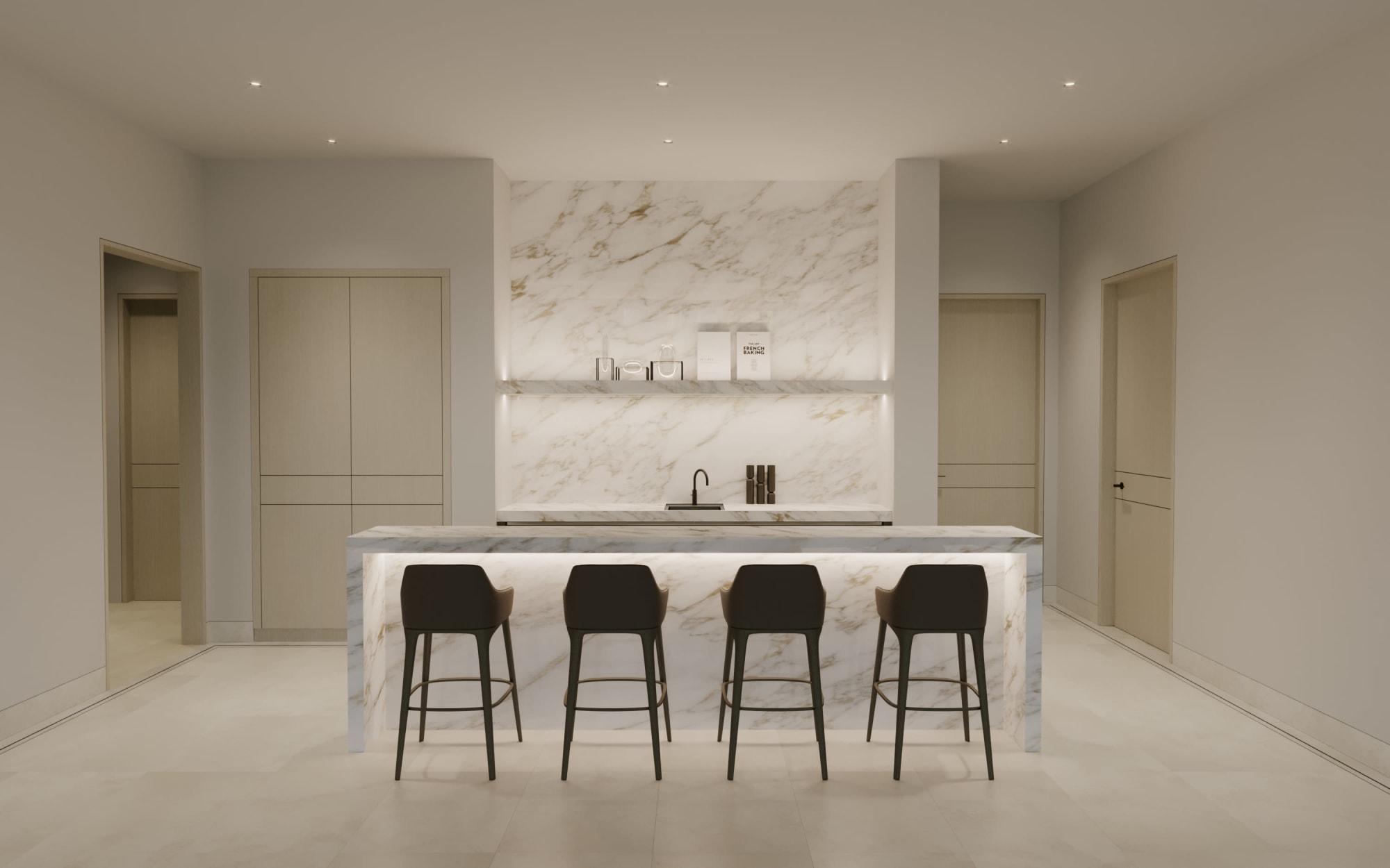 Interior Design by Alix Lawson seen at Dubai Hills - Emaar, دبي - Dubai Hills