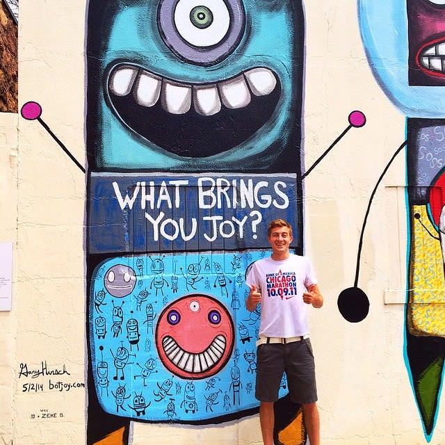 Murals by Gary Hirsch (botjoy) seen at Boulder, Boulder - Botjoy in Boulder