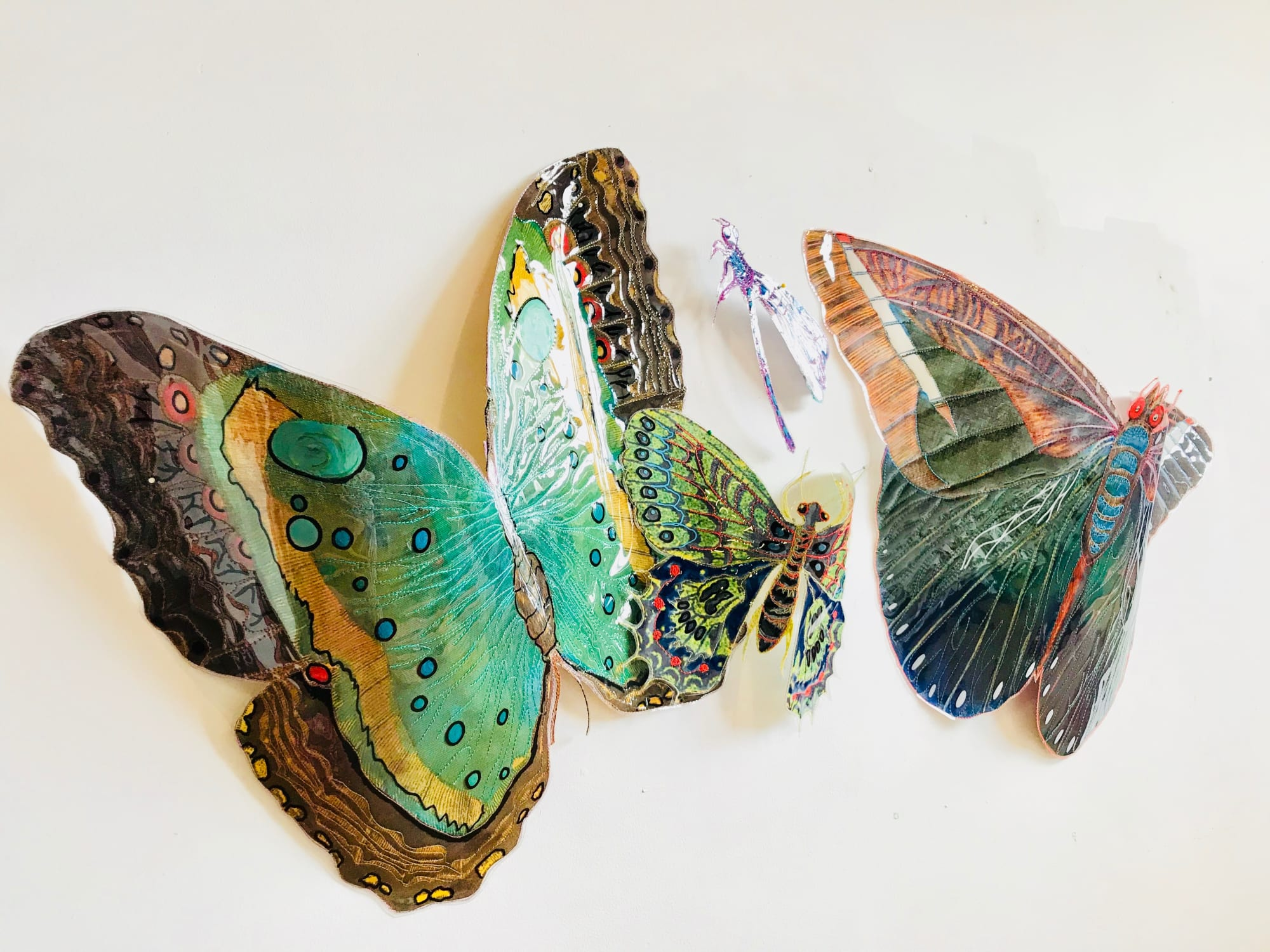 Art & Wall Decor by Leisa Rich at Swan Coach House, Atlanta - Birds and Butterflies