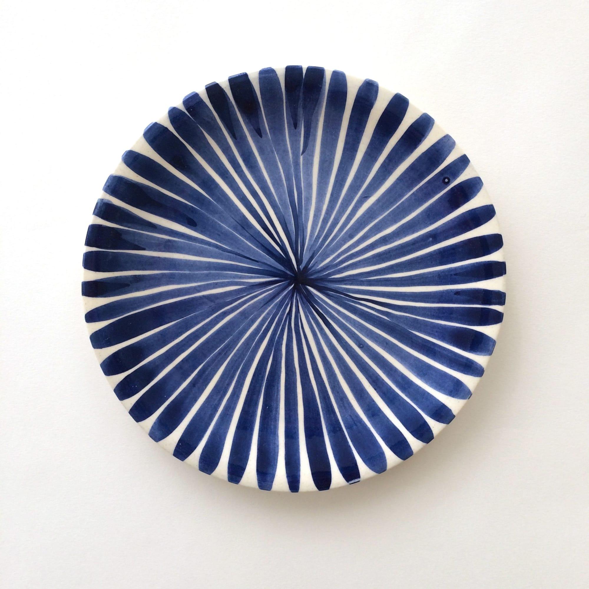 Ceramic Plates by Anastasia Tumanova seen at San Francisco, CA, San Francisco - Blue Reverie Plates