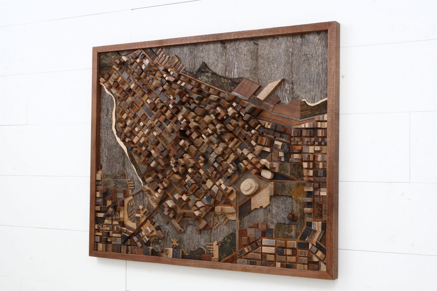 Sculptures by Craig Forget seen at Private Residence, Essex, Ontario, Essex - Vancouver City Scape