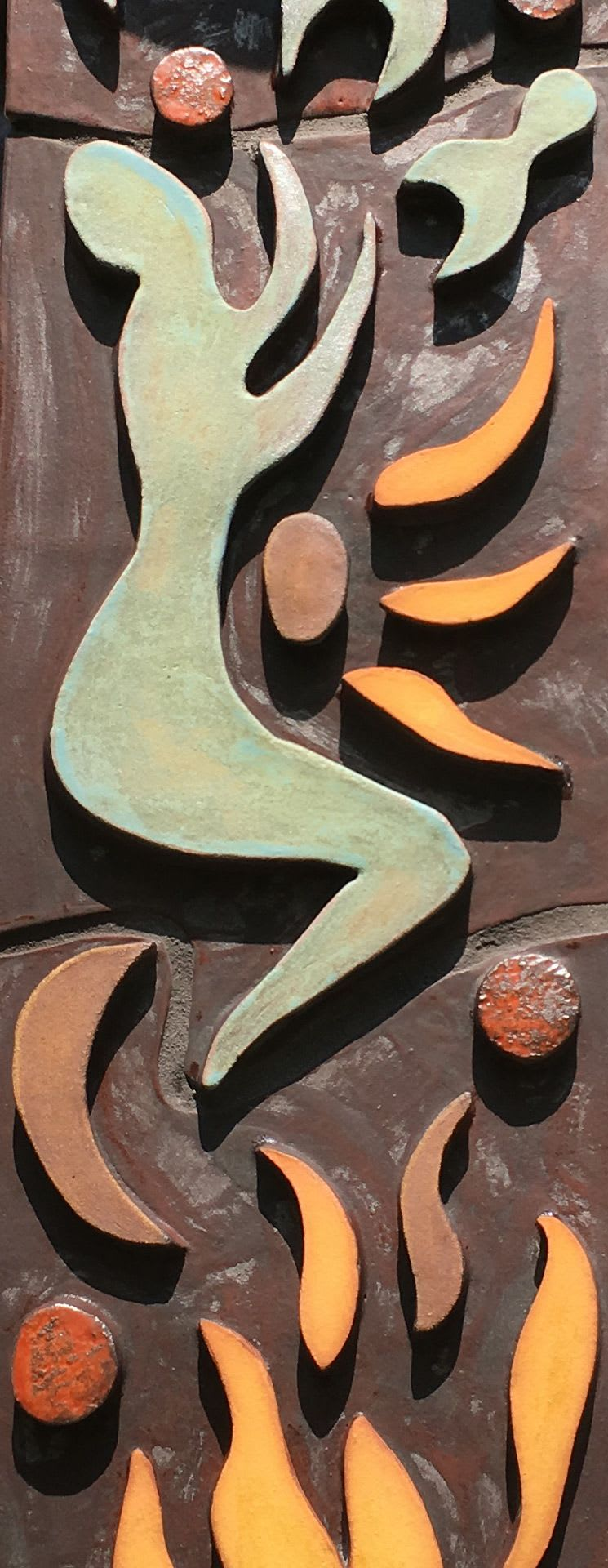 Sculptures by Gregory Fields seen at Private Residence, Louisville - Germination