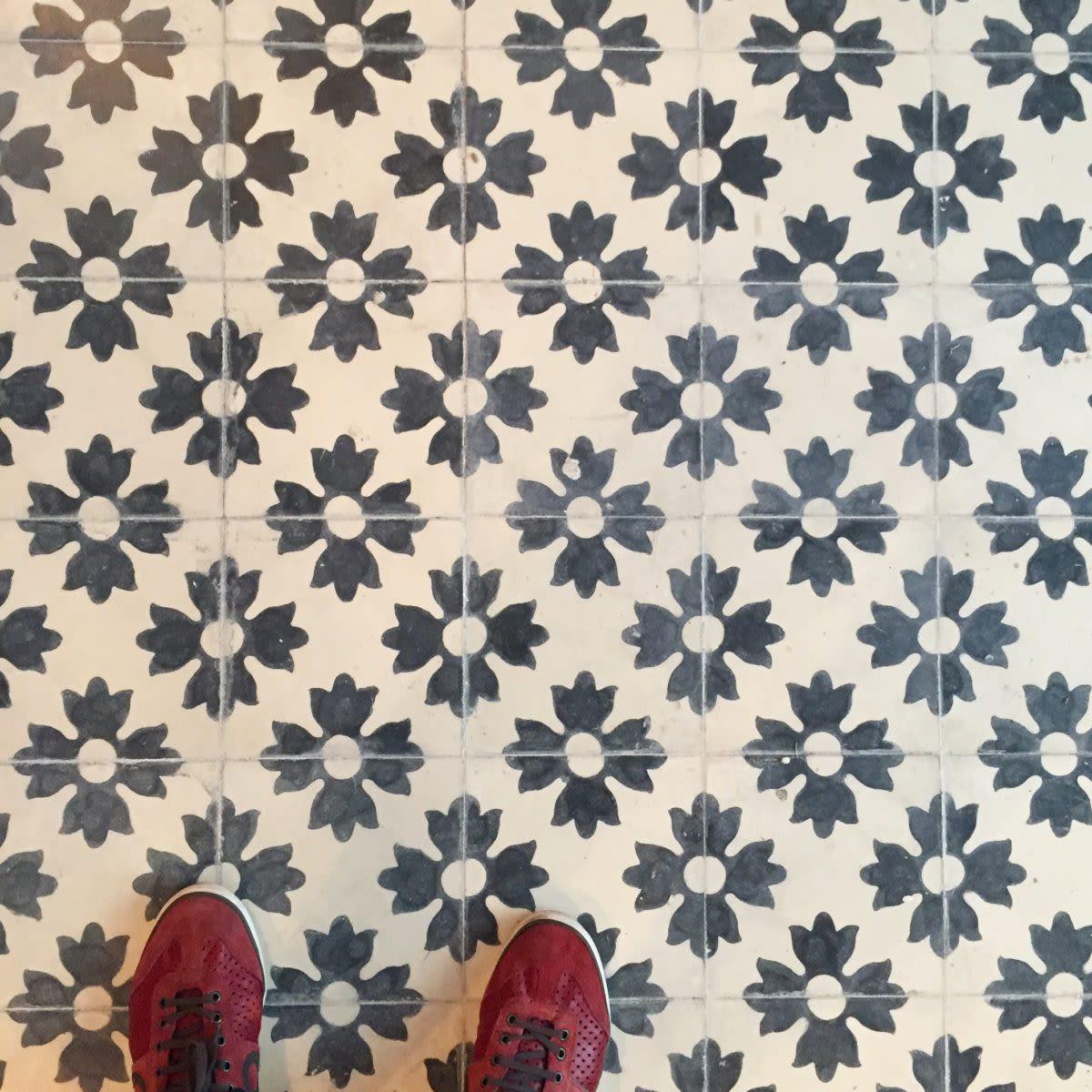 Curtains & Drapes by Huguet Mallorca seen at Soho House Barcelona, Barcelona - Bespoke Tiles