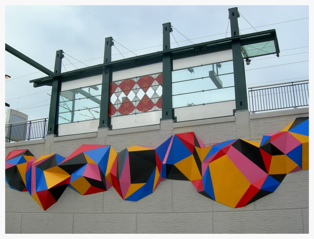 "Murals by Sandra Fettingis seen at 38th & Blake, Denver - ""Tumbleweeds Really Do Exist"""