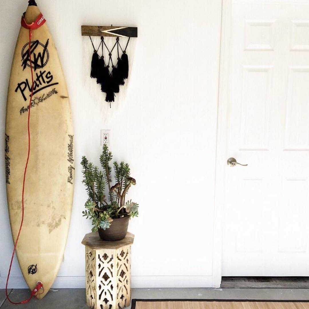 Hendrix Wall Hanging by Timber and Torch, Wall Hangings at Private Residence, Encinitas, CA