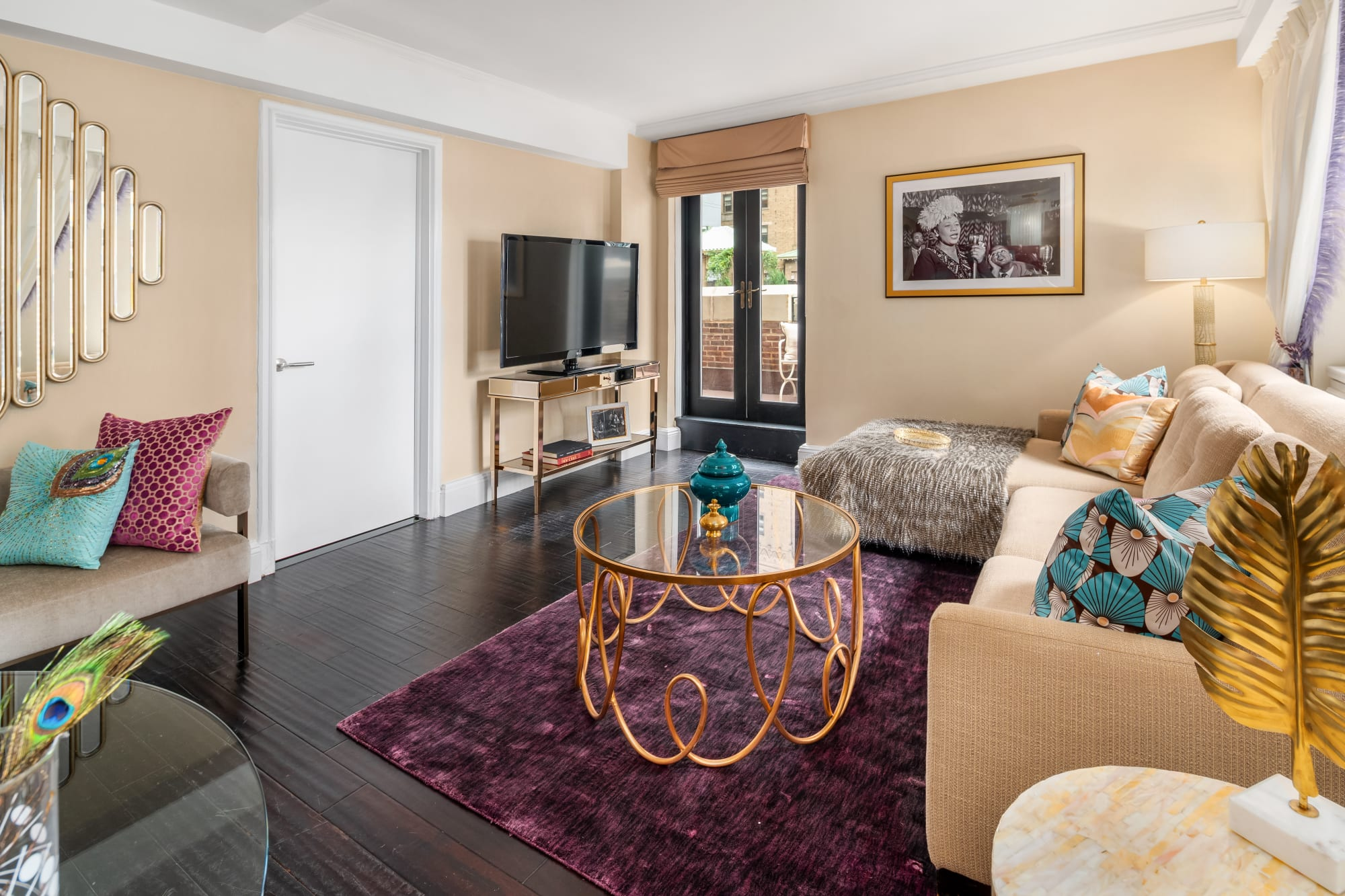 Interior Design by fringe seen at The Lexington Hotel, Autograph Collection, New York - The Lady Ella Suite