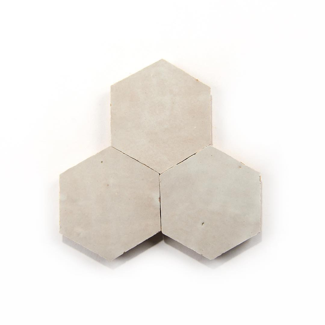Cement hexagon tile