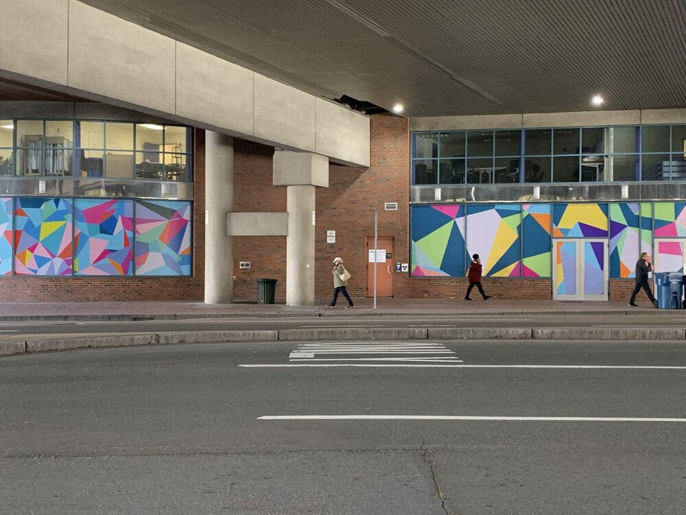 Art & Wall Decor by Allison Tanenhaus seen at Bulfinch Crossing, Boston - Building Wrap and Decals