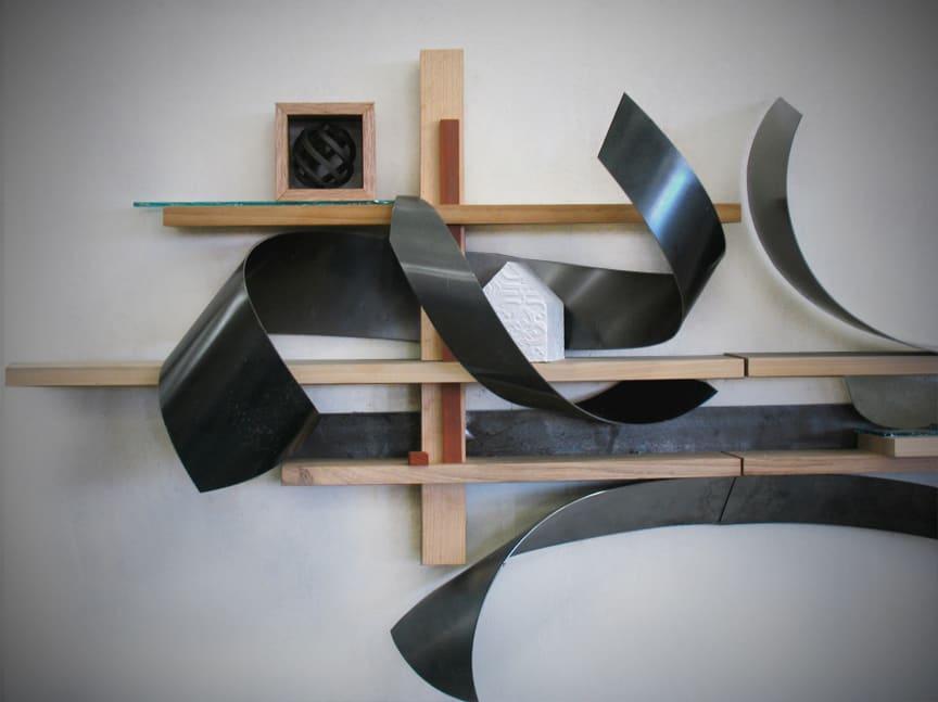 Sculptures by Craig Robb seen at IMA Colorado, Denver - Prarie Wind