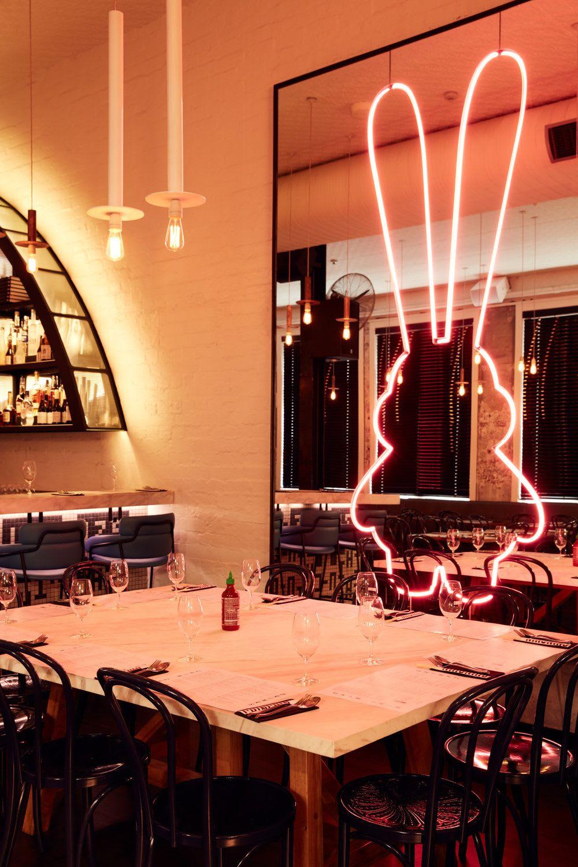 Interior Design by Samantha Eades Design seen at Chin Chin, Melbourne - Interior Design