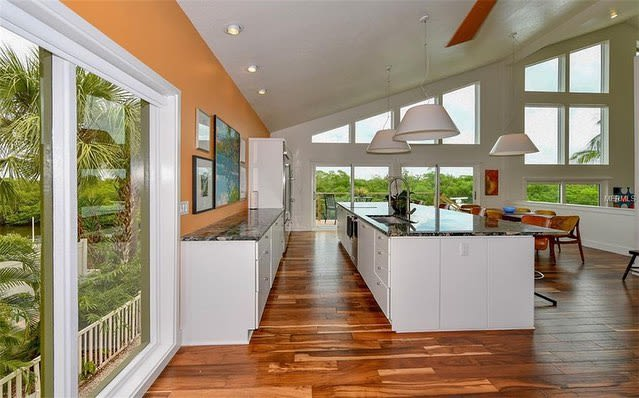 Pendants by CP Lighting seen at Private Residence, Sarasota - BigShade pendants