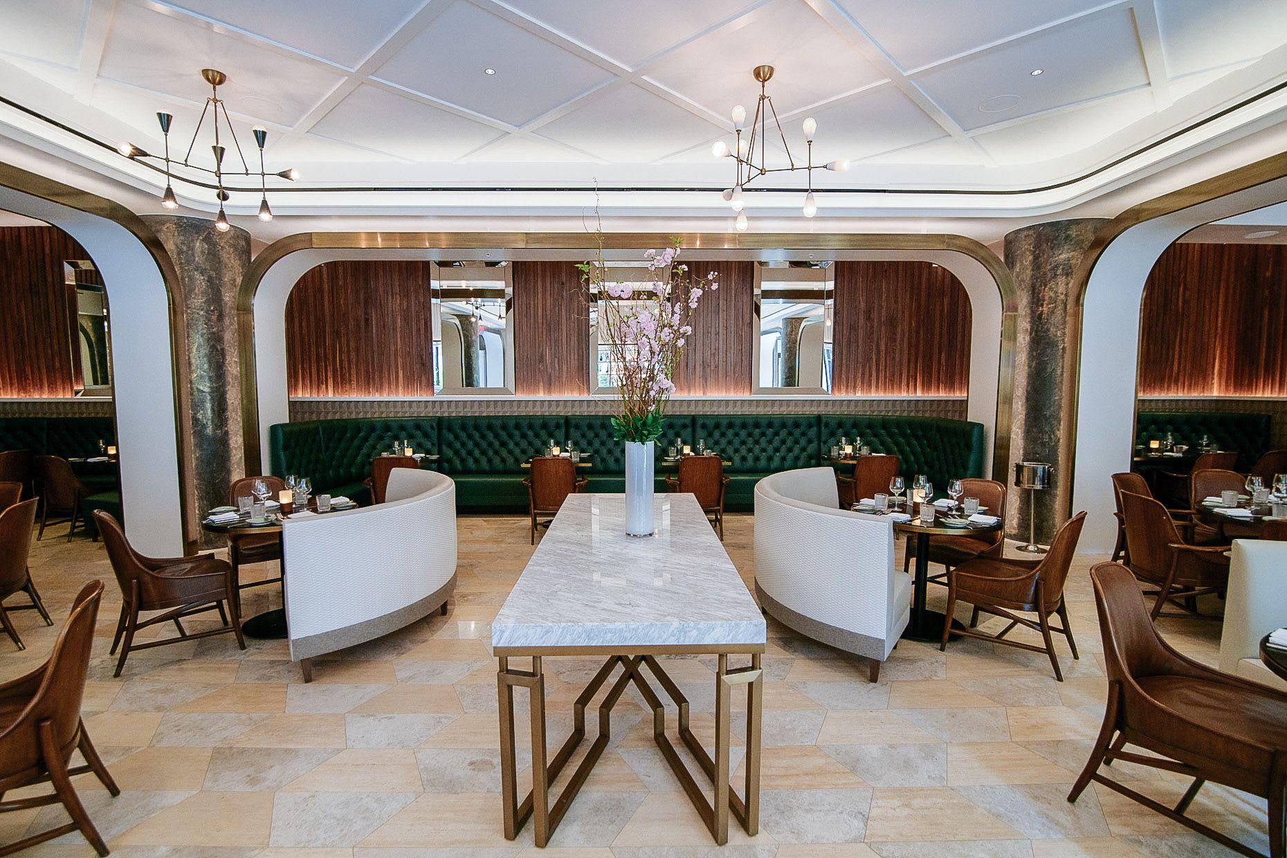 Tiles by Audrey Lane seen at The Ritz-Carlton Coconut Grove, Miami, Miami - Trapezoid (A)