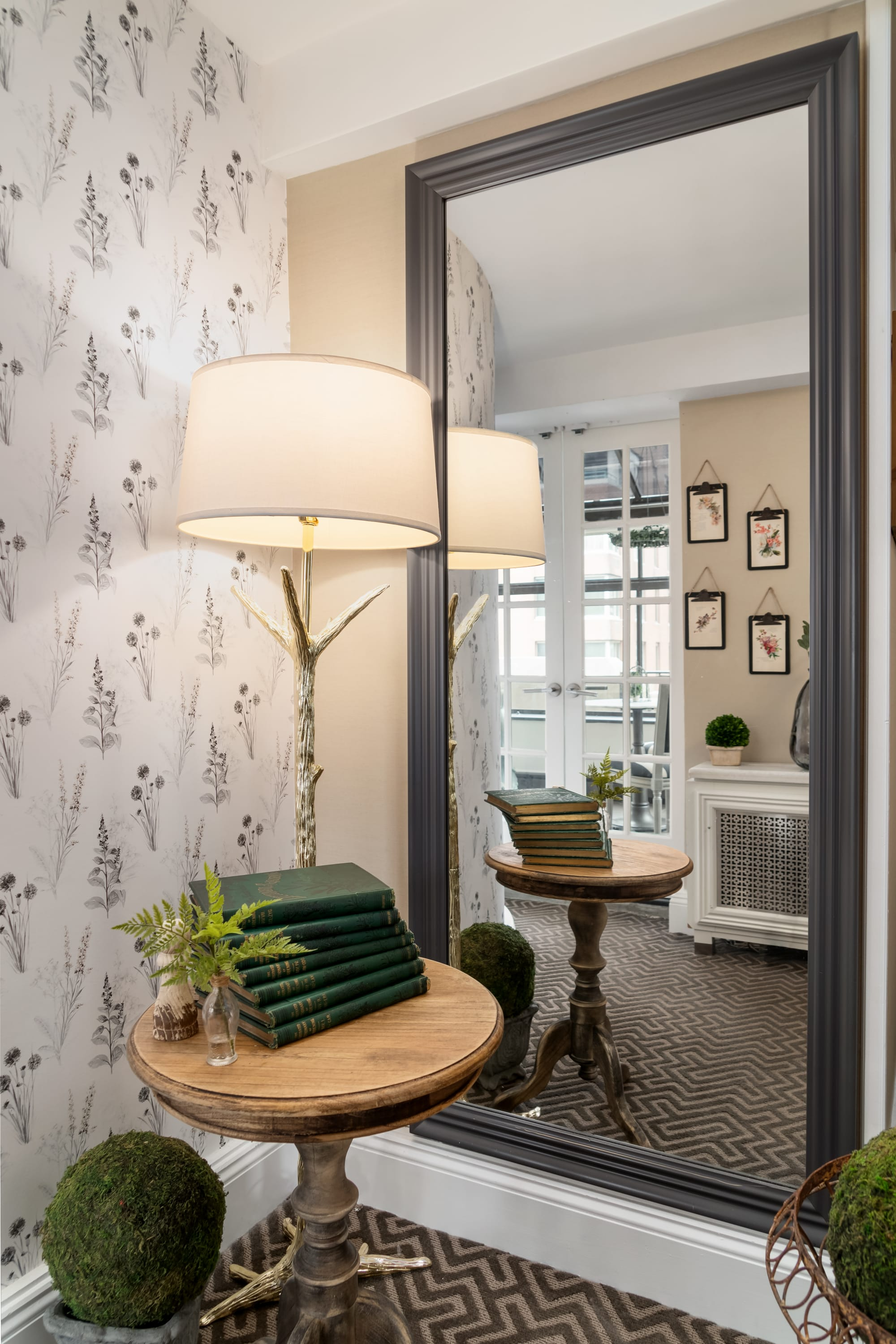 Interior Design by fringe seen at The Lexington Hotel, Autograph Collection, New York - The Conservatory Suite