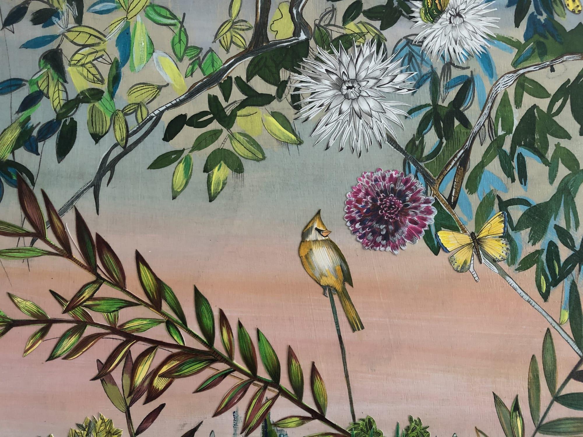 Art & Wall Decor by Victrola Design / Victoria Corbett Art seen at Private Residence, Austin - Tropical Garden