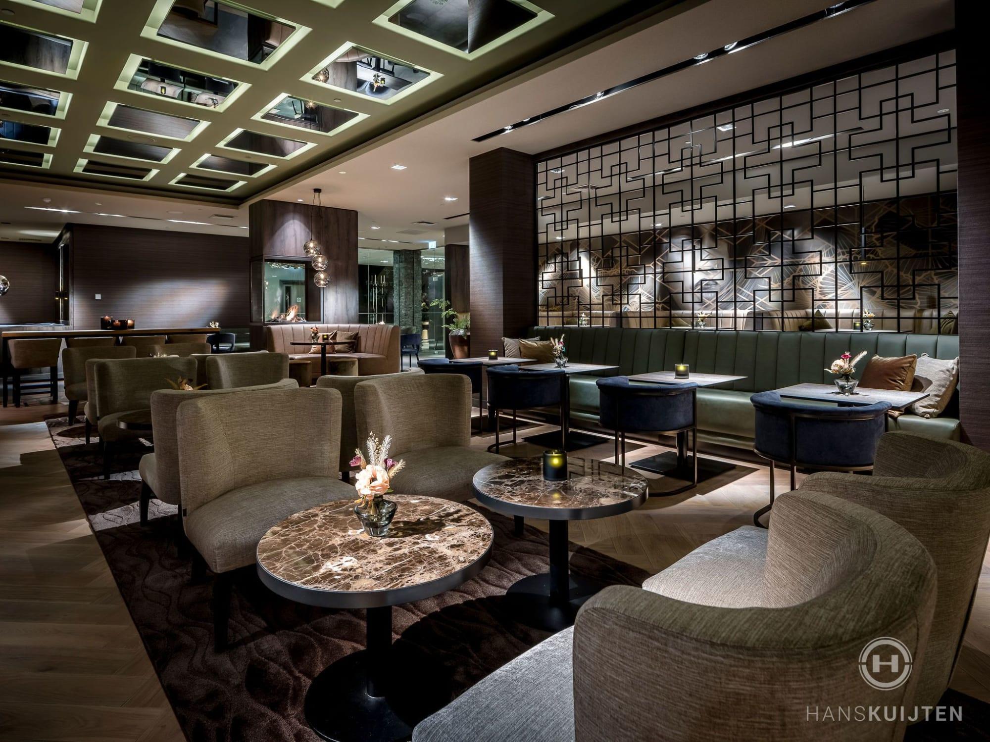 Interior Design by Hans Kuijten seen at Van der Valk Hotel Dordrecht, Dordrecht - Hotel Bar Dordrecht