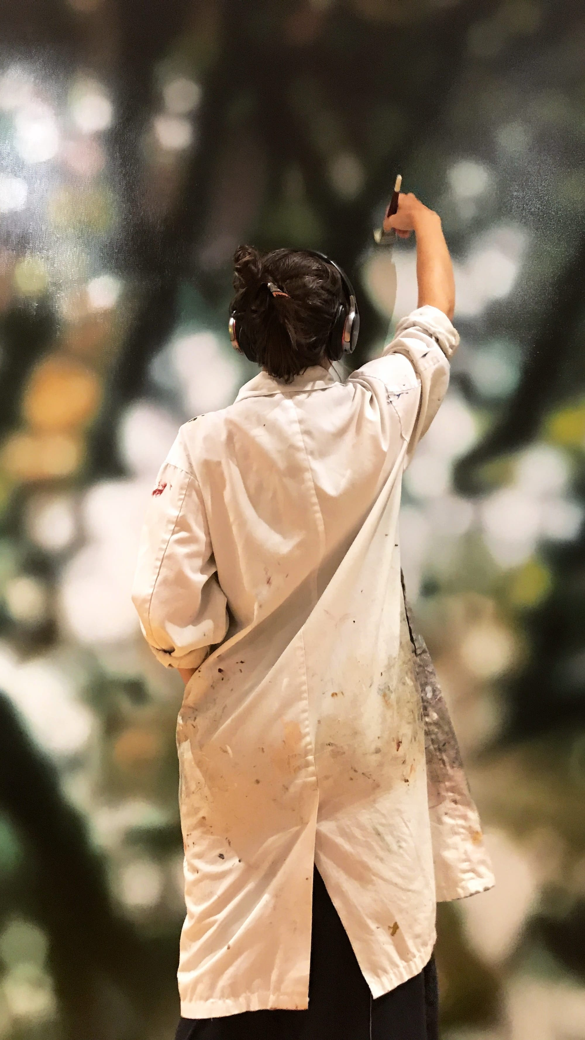 """Paintings by Laura Wood seen at 6611 Pearson Way, Richmond - """"Wind Of My Soul"""""""