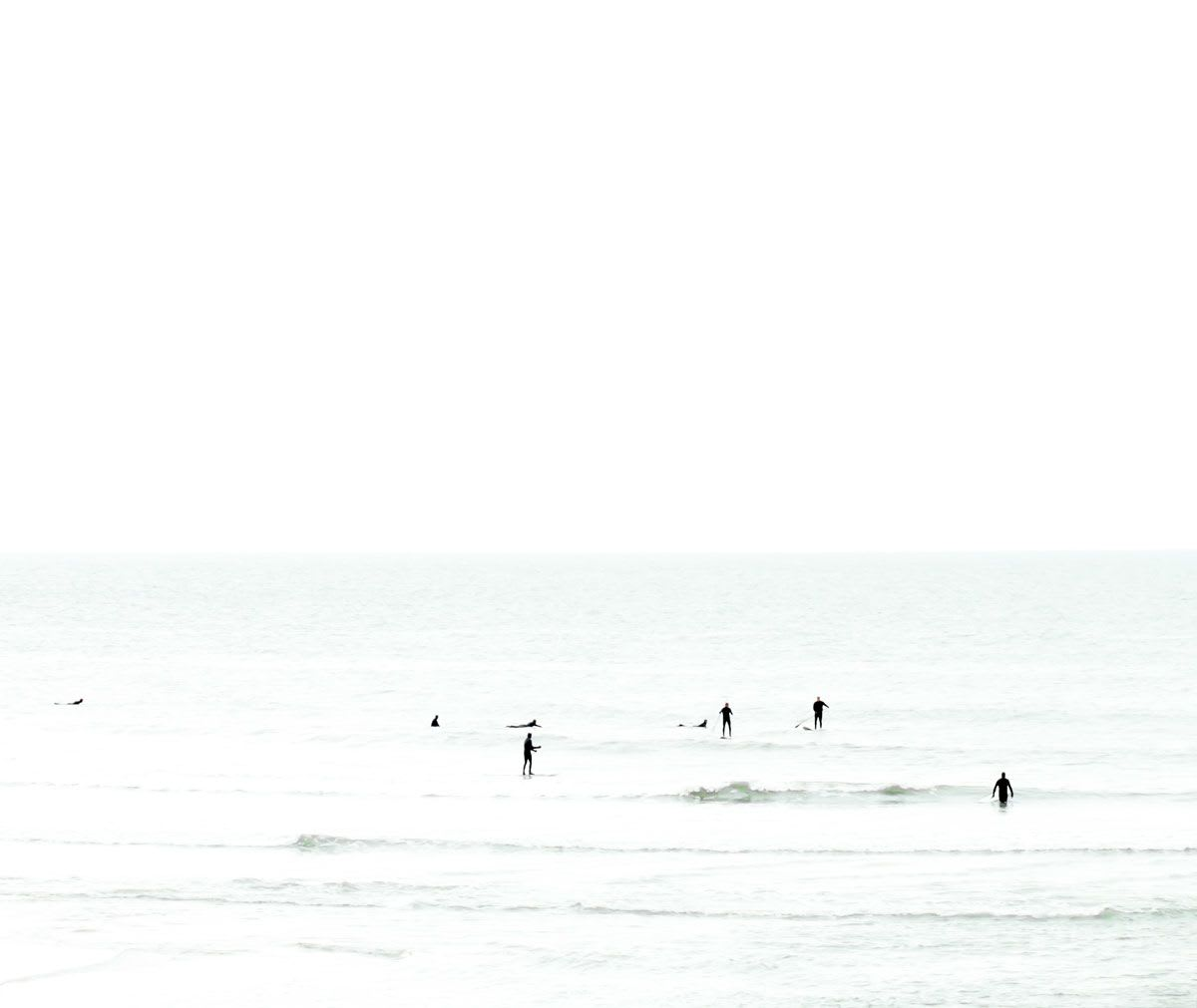 Photography by Cattie Coyle Photography seen at Private Residence, New York - Surfer No. 2 and Waiting No. 5