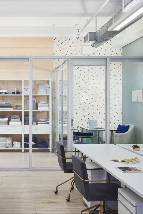 Interior Design by Current Interiors seen at jennifer bett communications, New York - Interior Design
