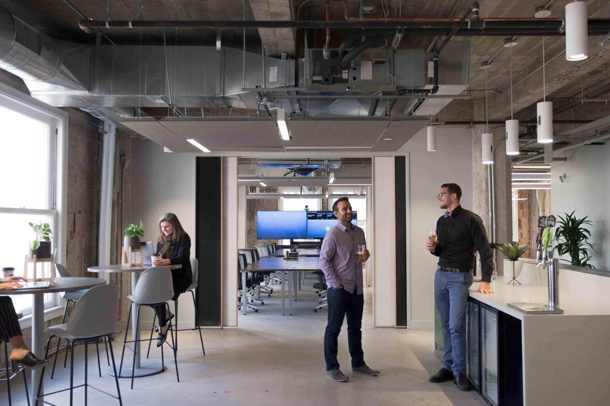 Interior Design by Omgivning seen at Henderson Engineers, Los Angeles - Henderson Engineers