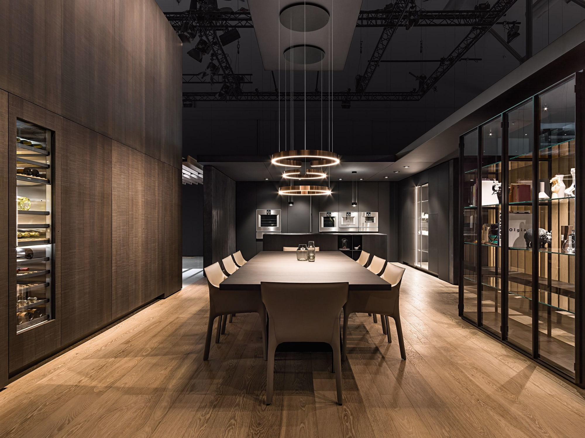 Interior Design by 1zu33 seen at Fiera Milano | Rho, Rho - Booth at Eurocucina 2018, Gaggenau