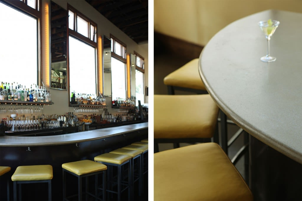 Furniture by Concreteworks seen at Nopa, San Francisco - Bartops