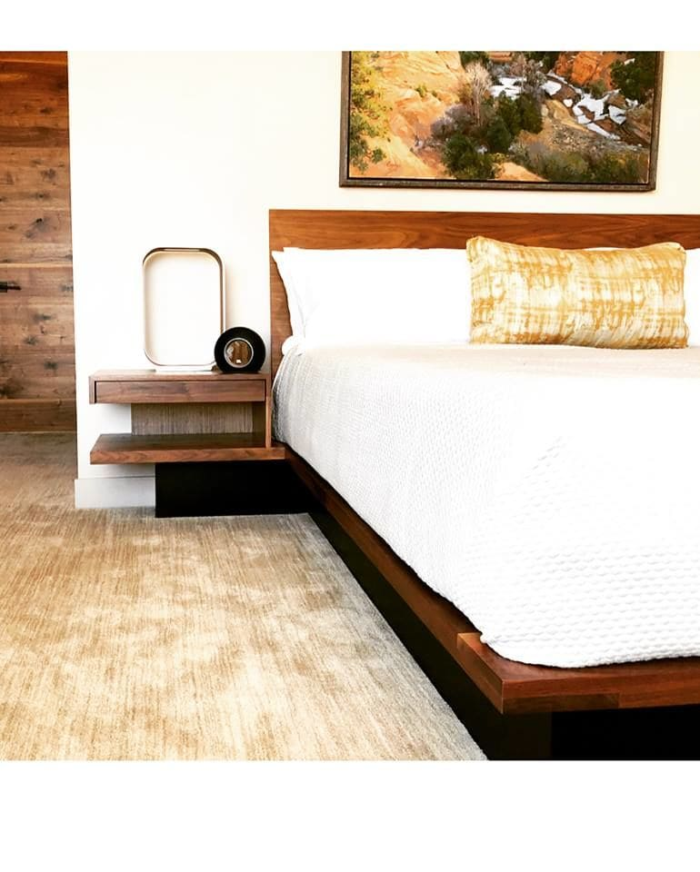 Beds & Accessories by AW Woodworks seen at Sentierre Resort Padre Canyon, Ivins - Resort Beds