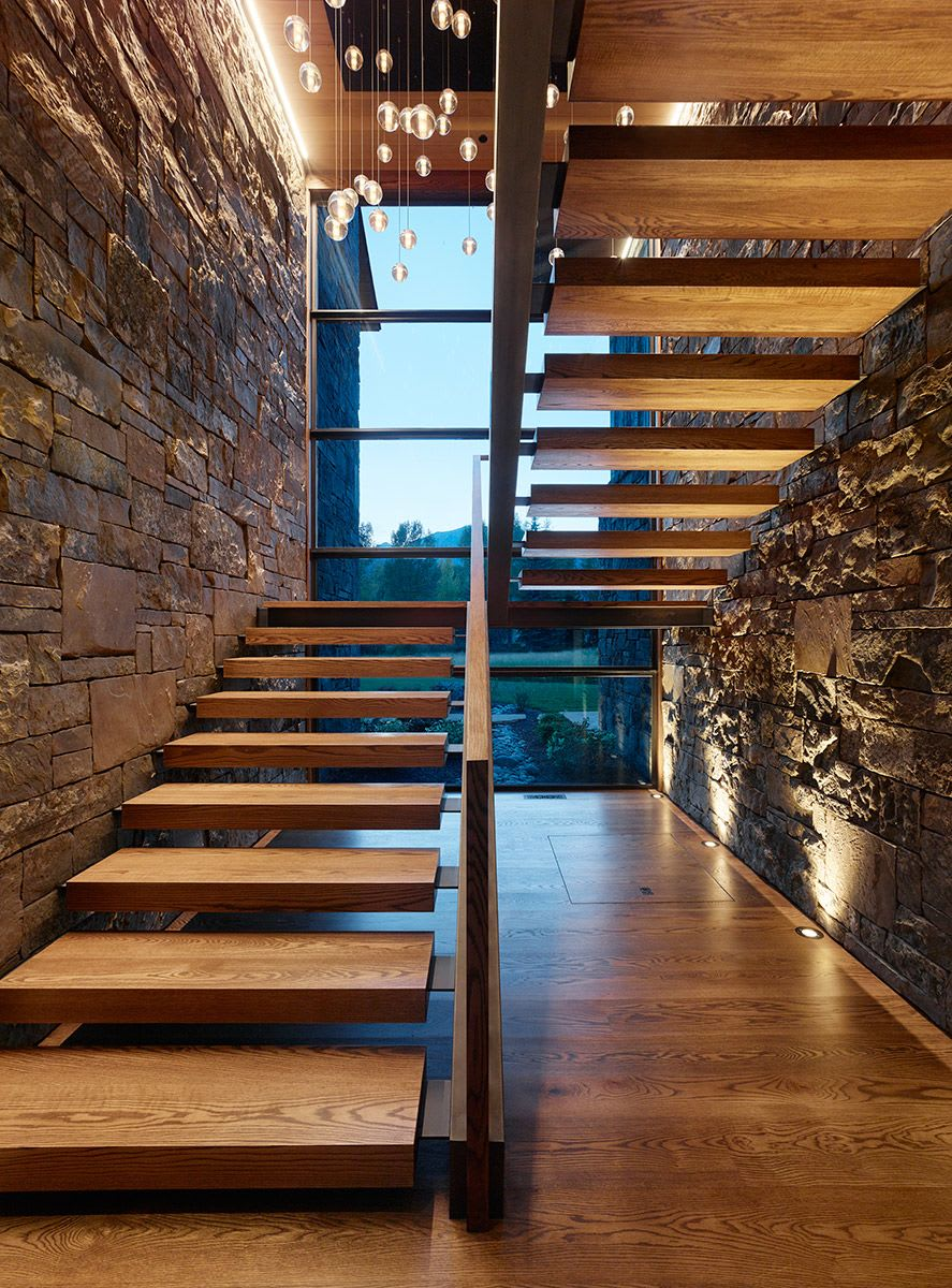 Interior Design by CLB Architects seen at Private Residence, Jackson, Jackson - ODR