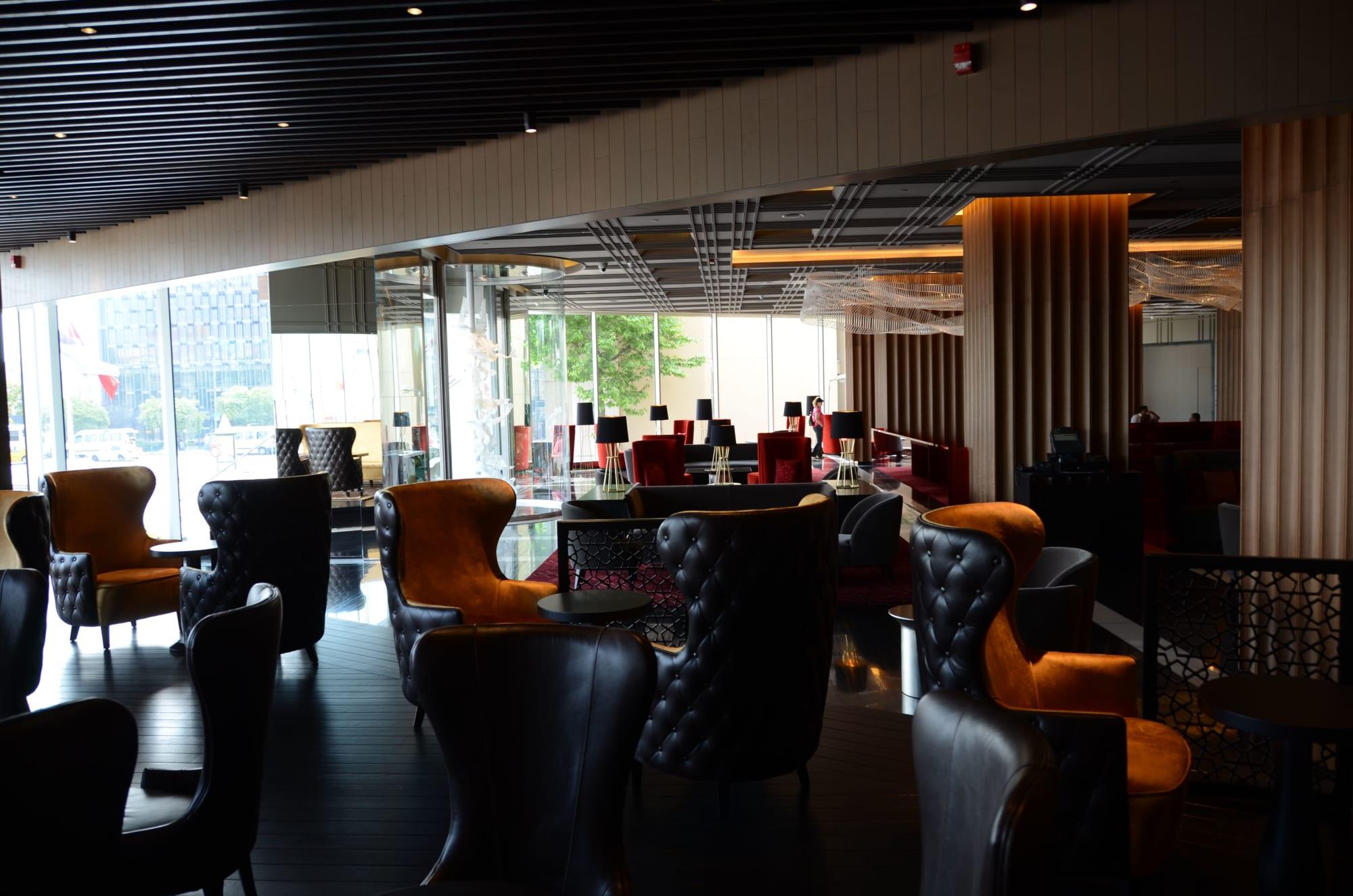 Architecture by Mobi seen at The Marmara Taksim - The Marmara Hotel