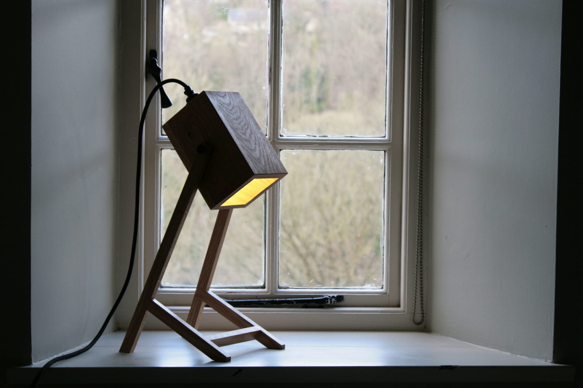 Lamps by CHARLIE CAFFYN FURNITURE seen at Private Residence, Limpley Stoke - Atworth Desk Lamp